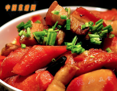 胡萝卜烧肉(3)