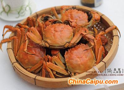 姜葱大闸蟹