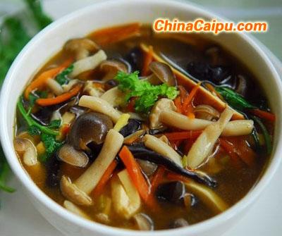 酸辣蘑菇汤的做法,酸辣蘑菇汤怎么做