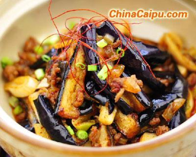 鱼香茄子煲的做法 鱼香茄子煲(8)怎么做