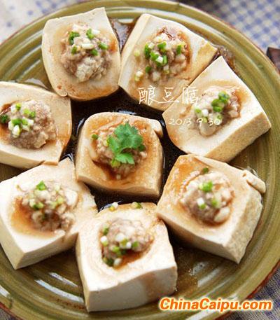 蚝汁酿豆腐的做法 蚝汁酿豆腐怎么做