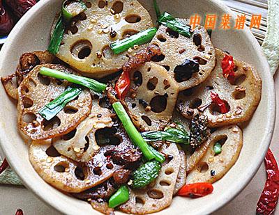回锅藕片的做法 回锅藕片怎么做