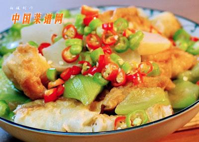 丝瓜焖油条的做法 丝瓜焖油条怎么做