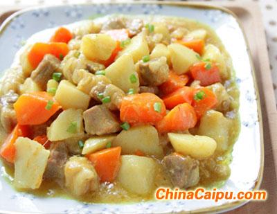 咖喱牛肉土豆的做法 咖喱牛肉土豆怎么做
