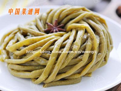 酸豇豆的腌制方法
