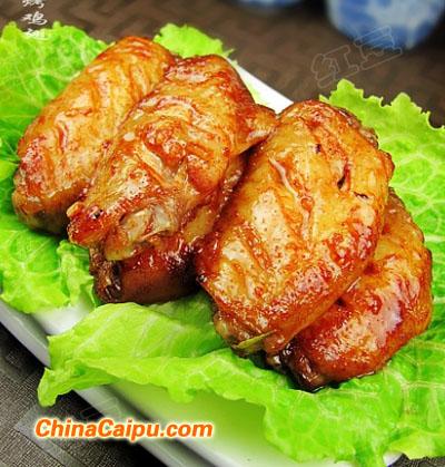 腐乳酱烤鸡翅