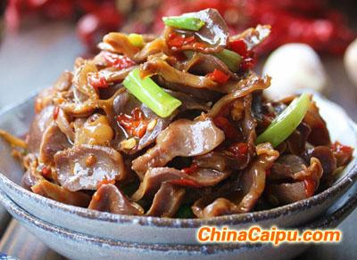 剁椒炒鸡胗