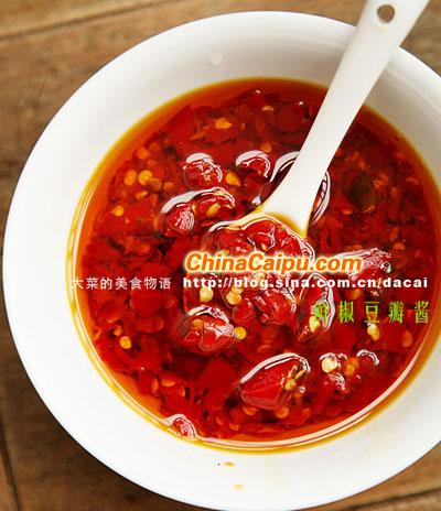 鲜椒豆瓣酱