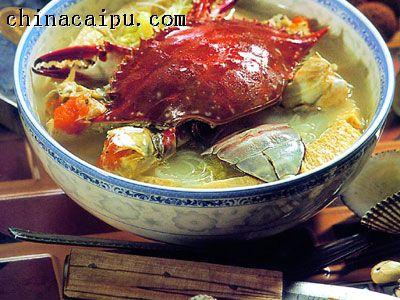 飞蟹炖白菜冻豆腐