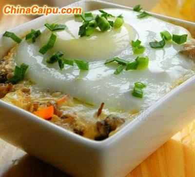 梅干菜蒸肉末