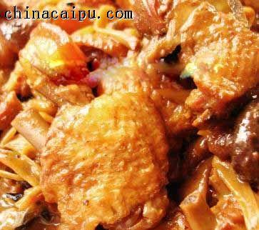 红烧猪肉和鸡的做法