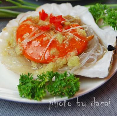 蒜蓉粉丝蒸扇贝(2)