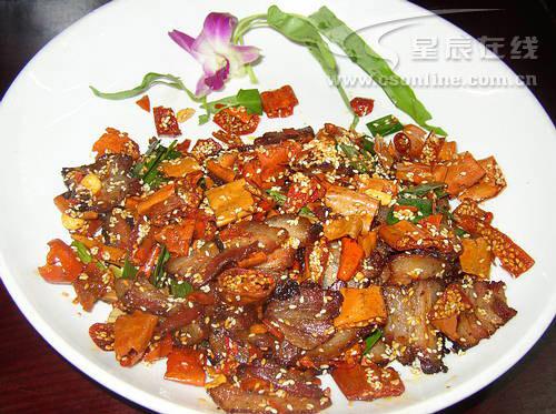 湘西部落特色菜:湘西烤肉
