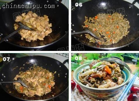干豆角炒鸡