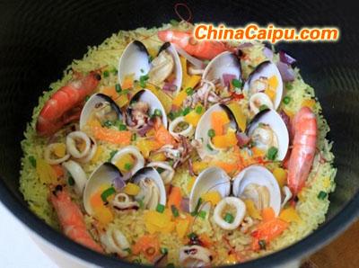 咖喱海鲜饭