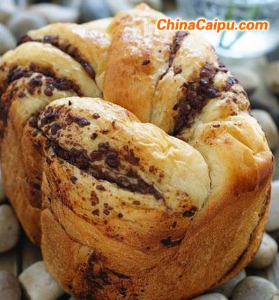 豆沙土司(面包机版)