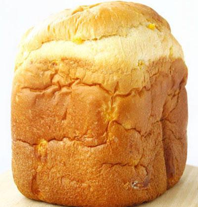 鲜奶玉米面包(面包机版)