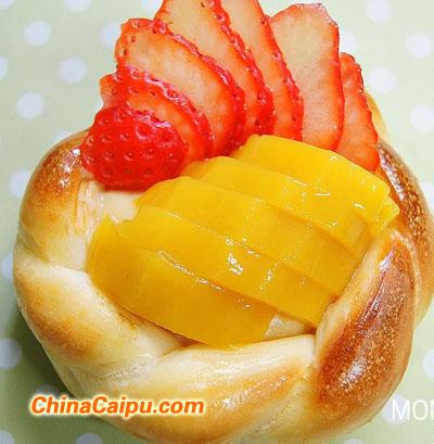 水果篮面包