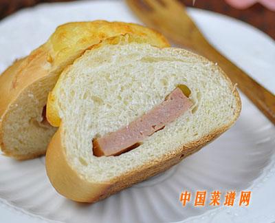 午餐肉芝士面包
