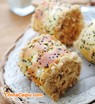 肉松面包卷(4)
