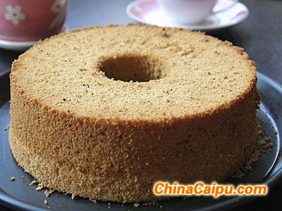黑芝麻戚风蛋糕(2)