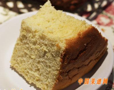 榴莲戚风蛋糕