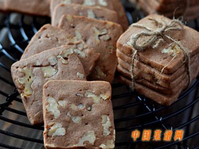 巧克力核桃饼干