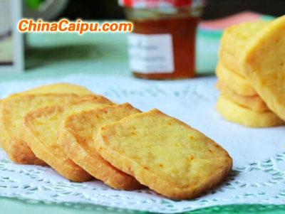 橙香小饼干