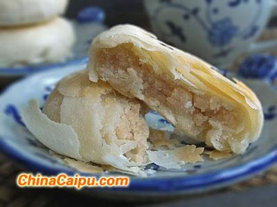 酥皮豆沙月饼