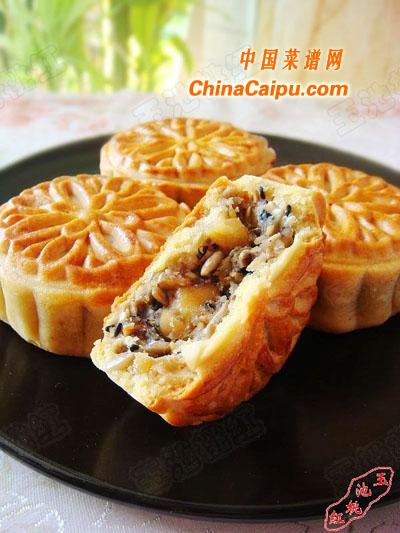 中秋五仁月饼