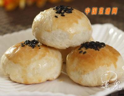 苏式月饼(榨菜肉沫馅)