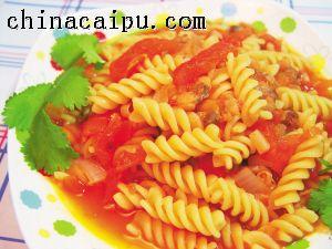 海鲜番茄意粉