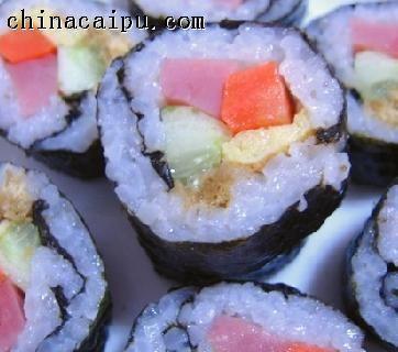 可口寿司卷