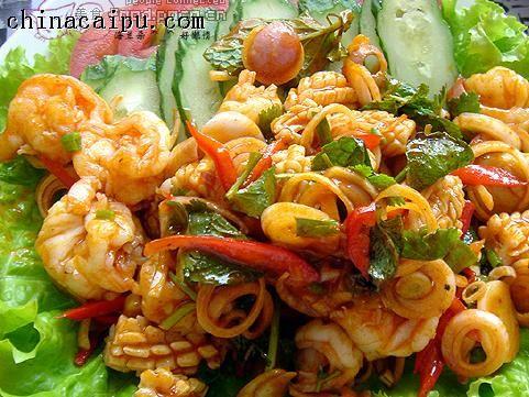 日式海鲜沙拉