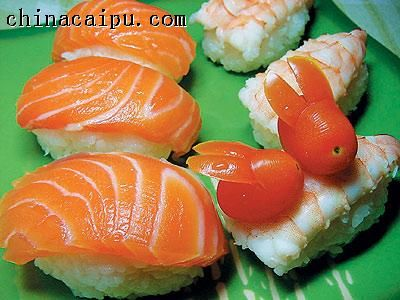 手握寿司的做法