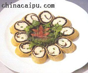 紫菜鱼卷的做法