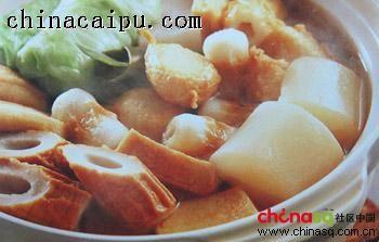 关东煮锅的做法