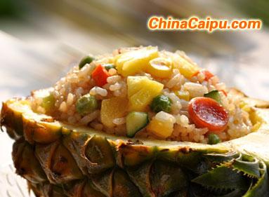 菠萝炒饭--六一