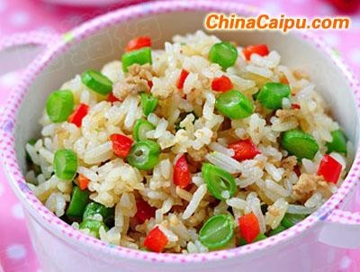 四季豆炒饭(2岁以上宝宝)
