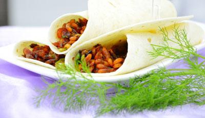 卷饼小米虾