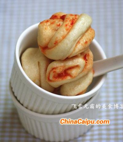 辣椒酱花卷
