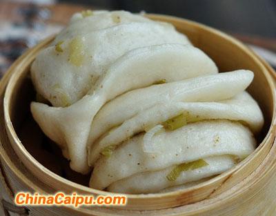 葱香花卷(2)