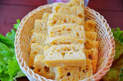 枣香玉米面发糕