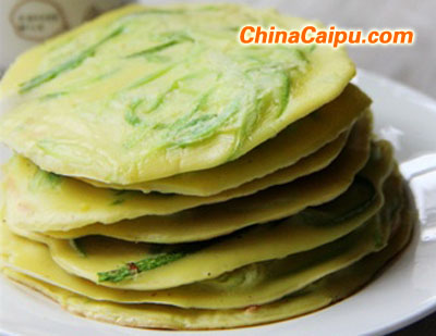 西葫芦蛋饼(2)