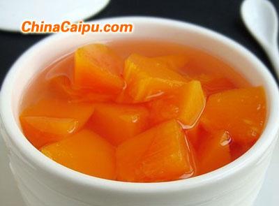 清炖冰糖木瓜