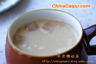 冰焦糖奶茶