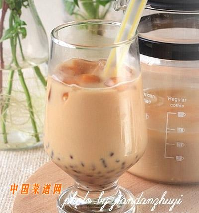 红豆冰奶茶