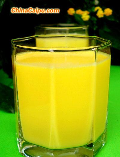南瓜牛奶茶