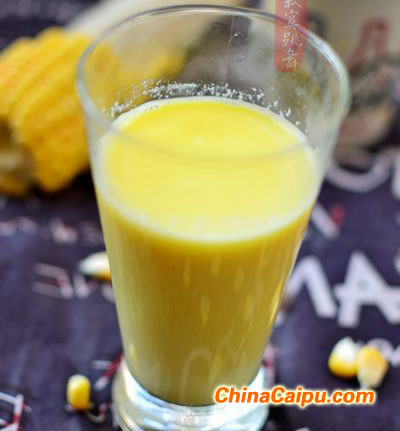 玉米汁怎么榨