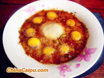 高汤炖双蛋